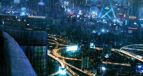 重庆是一个有赛博朋克质感的城市吗?