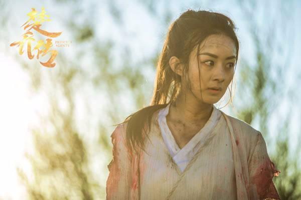 《楚乔传》中的赵丽颖你最喜欢哪个镜头?