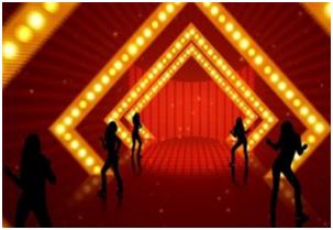 舞台背景的要求随着什么因素提高?