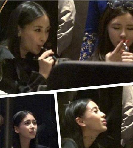 娱乐圈中爱抽烟的女明星有谁?