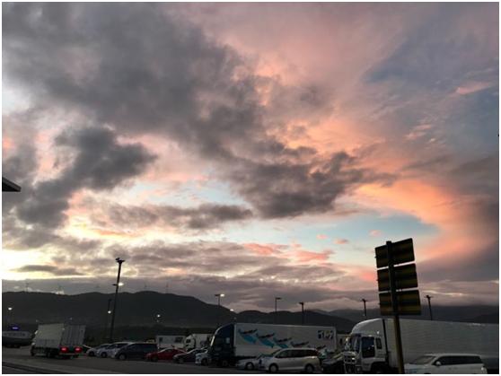 你们看到过哪些好看的云?